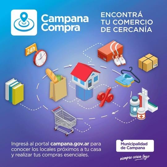 """""""Compra Campana"""": el Municipio lanza una página de venta online"""