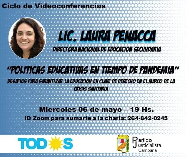 Hoy continúa el Ciclo de Videoconferencias organizado por el Frente de Todos-PJ