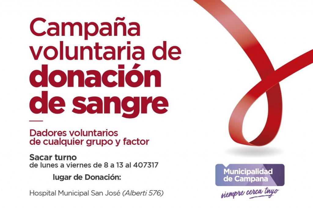 El hospital San José continúa con la campaña de donación de sangre