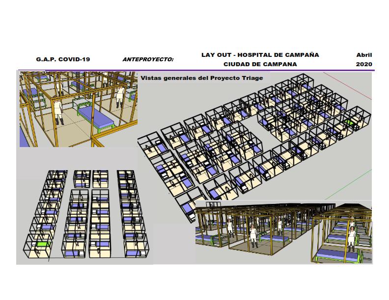 Aporte Solidario UIC: (Triage) para ser instalado en Módulos de 50 pacientes