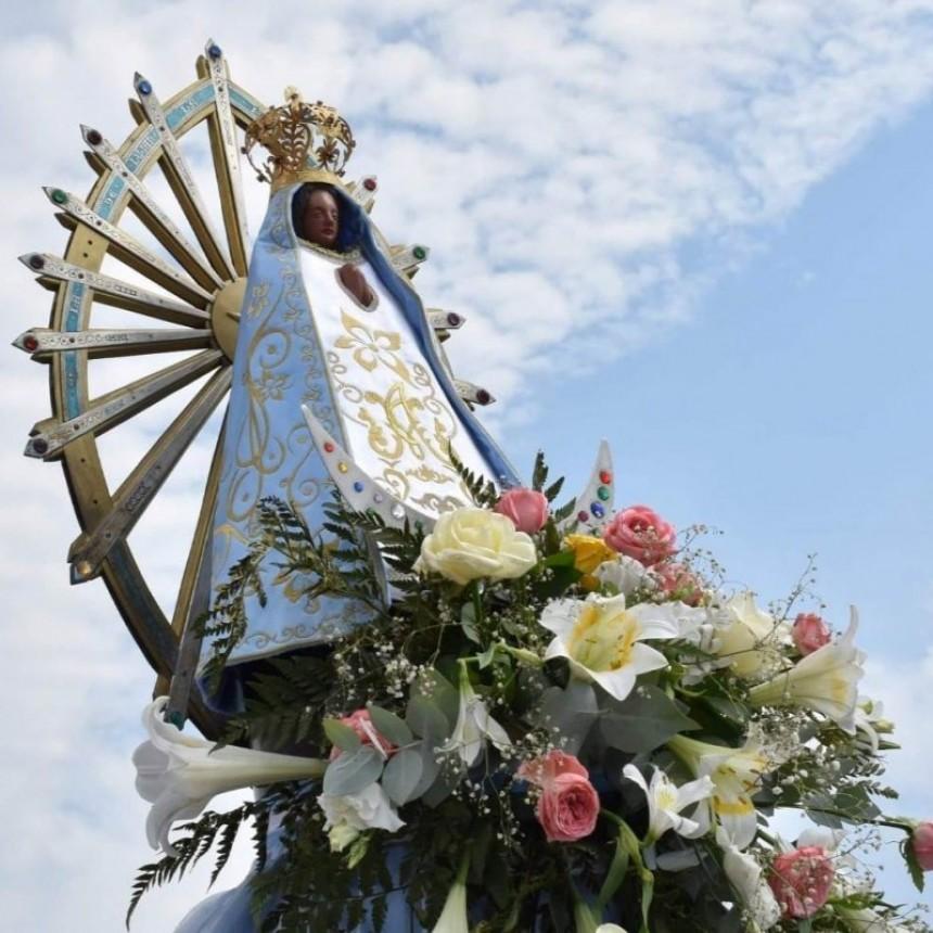 8 de mayo: FESTIVIDAD DE NUESTRA SEÑORA DE LUJÁN  JORNADA DE ORACIÓN Y SOLIDARIDAD  JUNTO A MARÍA DE LUJÁN