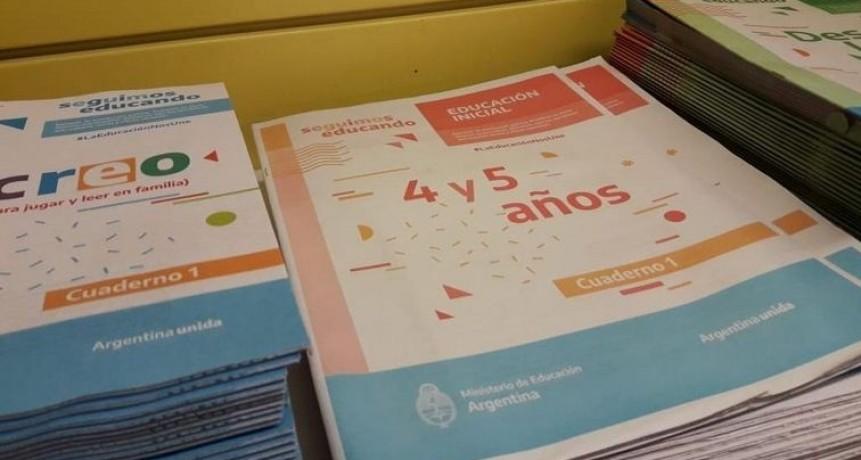 Preocupación por el contenido político explícito en los cuadernillos educativos