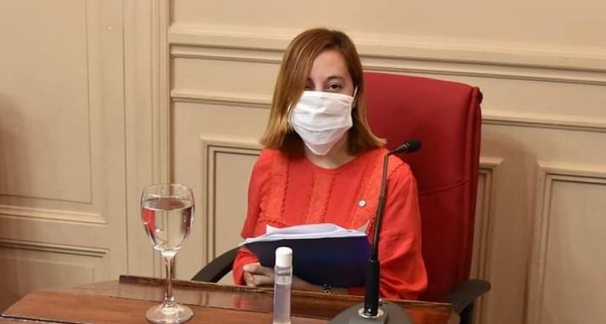"""Romina Carrizo : """"El Municipio debe garantizar que el aprendizaje  a distancia sea equitativo en Campana"""""""