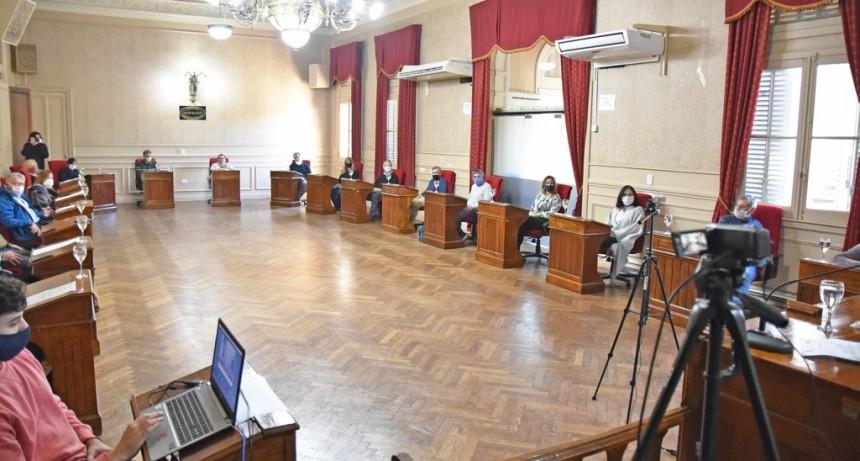 El Concejo Deliberante aprobó el listado de Mayores Contribuyentes