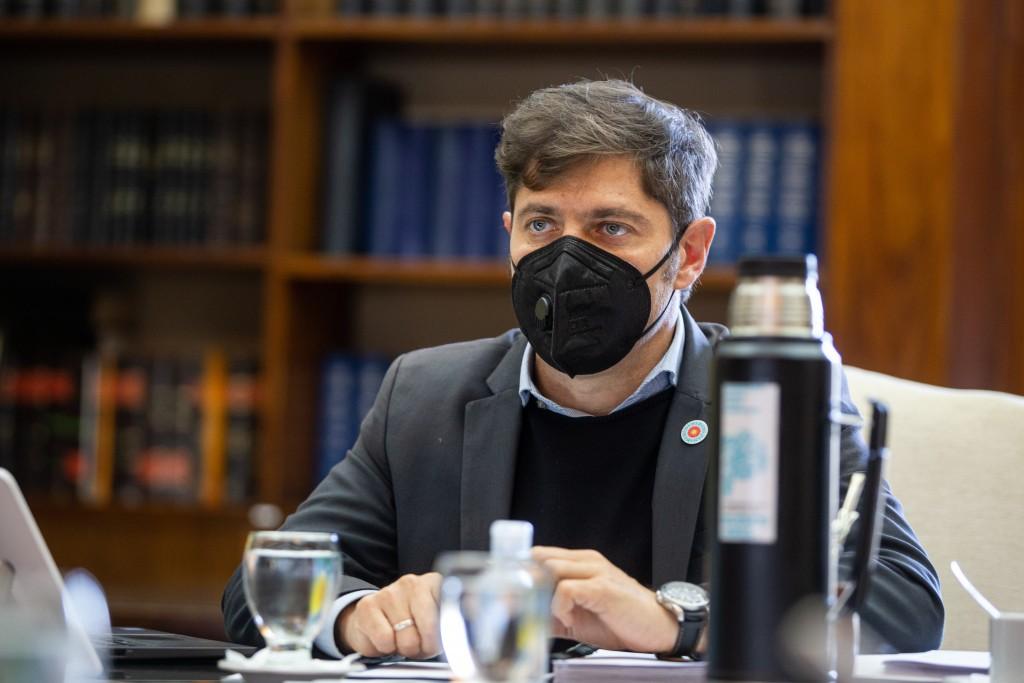 Kicillof:  Vamos a fortalecer la inversión social y productiva para acompañar a los sectores más perjudicados por la pandemia