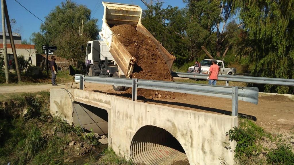Otamendi: ya está habilitado el puente de Chapuis y Laplume