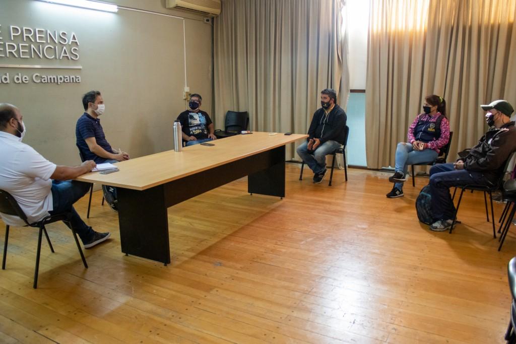 El Intendente se reunió con referentes de movimientos sociales