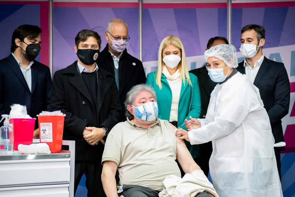 BUENOS AIRES VACUNATE La Provincia superó los tres millones de vacunados contra el Covid-19