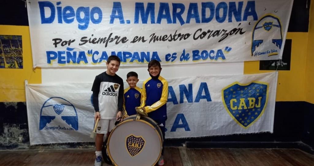 Tres campanenses fueron seleccionados por Boca Juniors