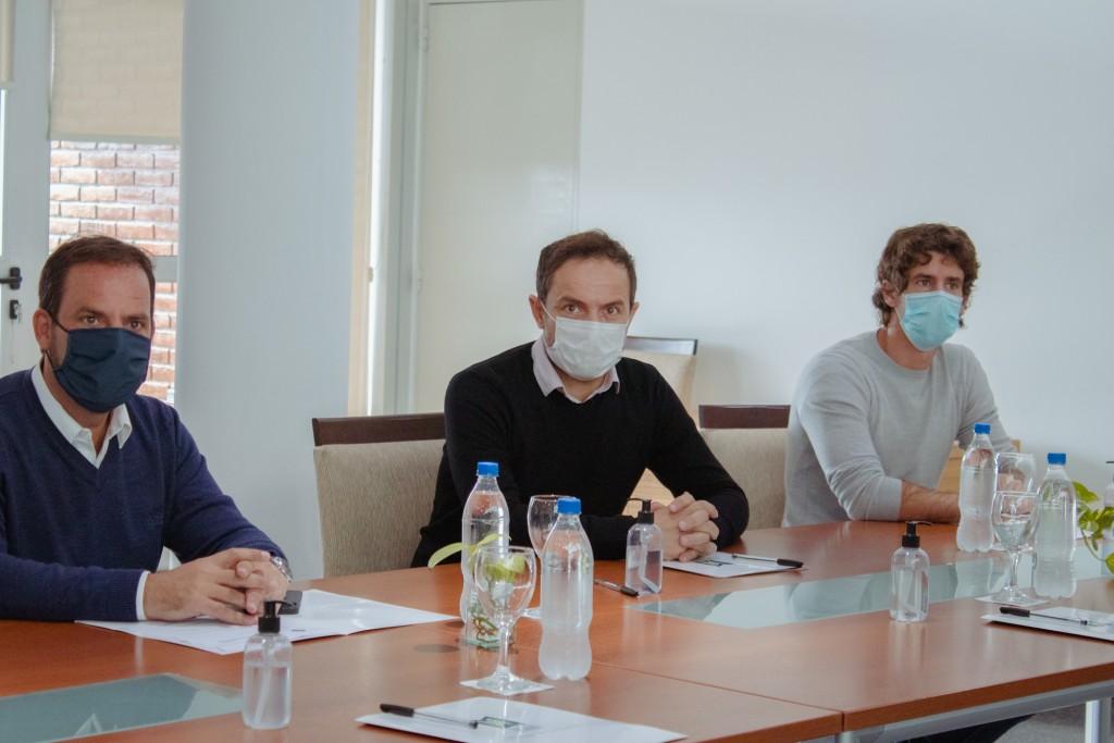 Abella e intendentes analizaron la situación sanitaria de la Región Norte 2
