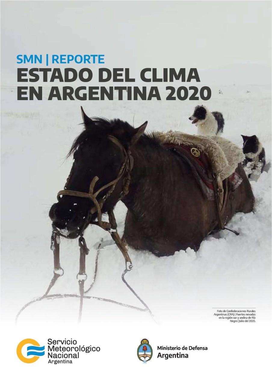 Presentamos el Estado del Clima en Argentina 2020