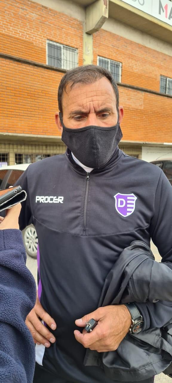 MARCELO FRANCHINI : EL EQUIPO FUNCIONO BIEN HASTA QUE LLEGO EL GOL DE ALMAGRO