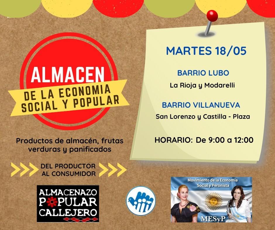 Los Almacenes Itinerantes llegan hoy al Lubo y Villanueva