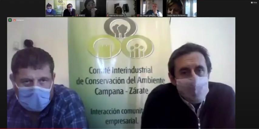 Online   Importante participación del CICACZ  en Jornadas Ambientales