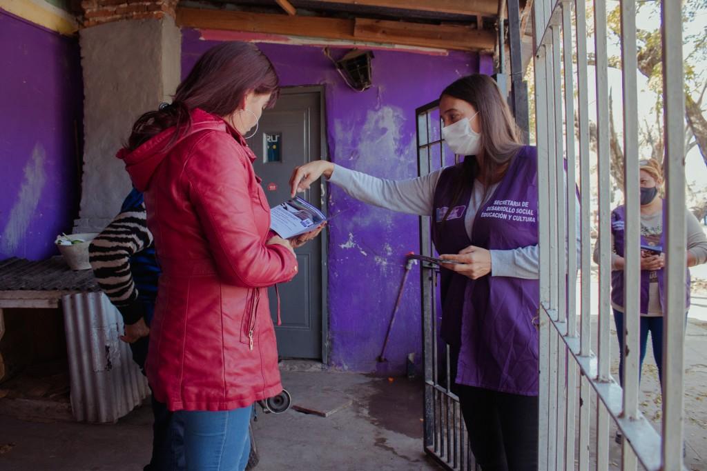 Elisa Abella encabezó un nuevo operativo del programa : Detectar Educación