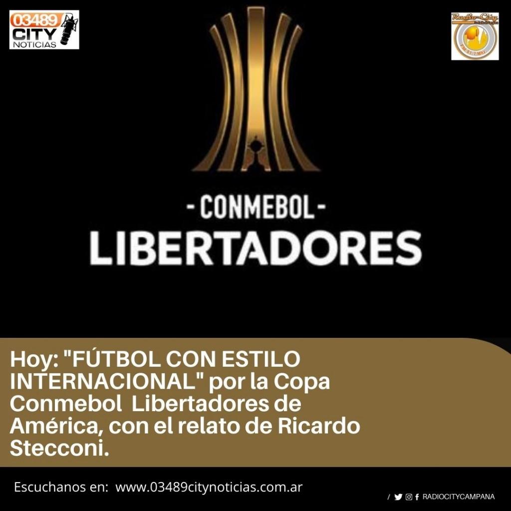 HOY BOCA JUNIORS VS BARCELONA DE ECUADOR POR RADIO CITY CAMPANA FM 91.7 MHZ