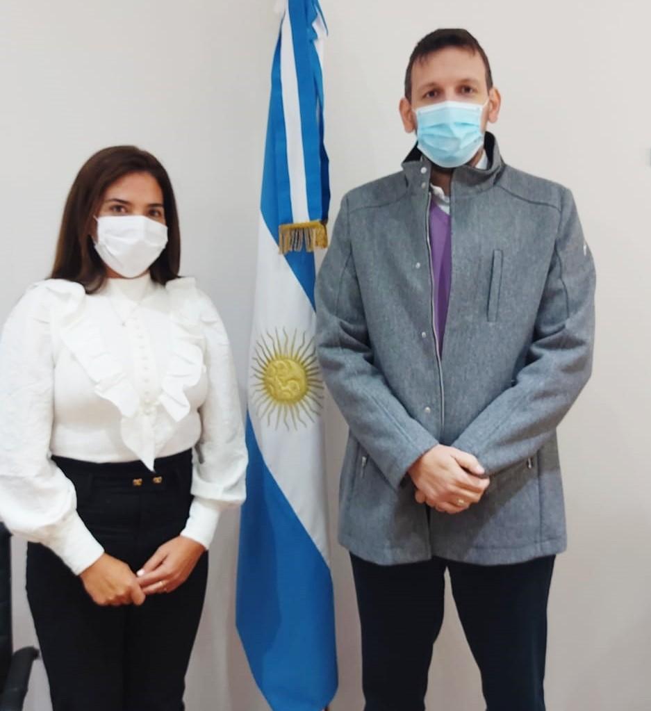 Sol Calle se reunió con el Presidente del Banco Provincia