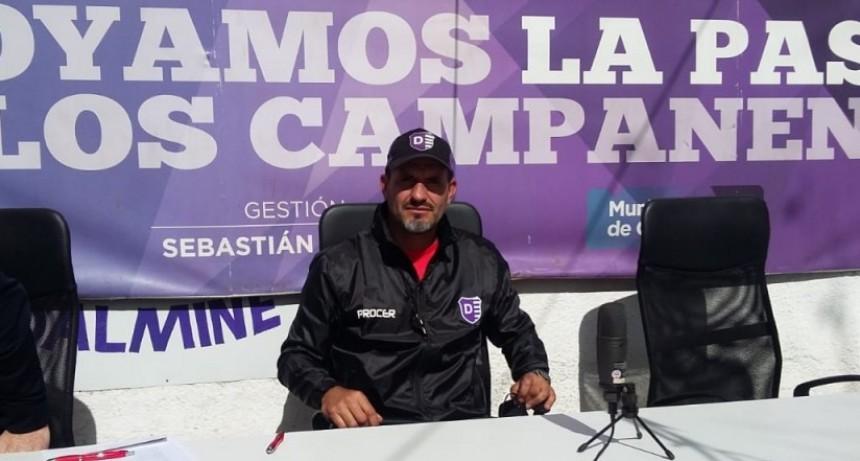 Marcelo Franchini se refirió a la actualidad de Villa Dálmine