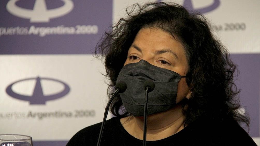 Carla Vizzotti: La Copa América no está definida 100%