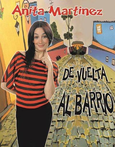 ANITA MARTINEZ LLEGA A CAMPANA CON SU ESPECTÀCULO