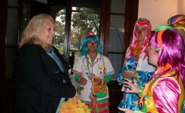 Payamédicos visitaron a la Intendente Municipal