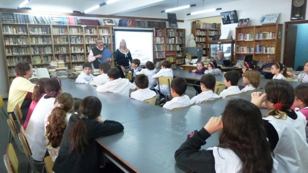 """Una nueva Delegación Estudiantil visitó la """"Casa de la Cultura"""""""
