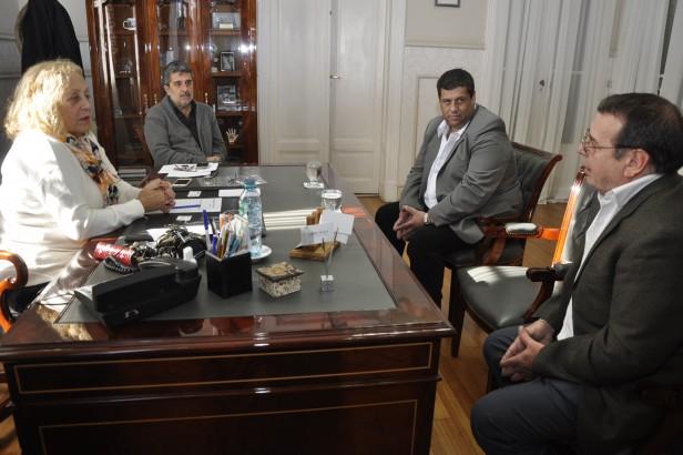 La Intendente Giroldi se reunió con el nuevo Gerente General de Carboclor