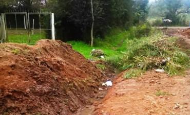 El Municipio concretó trabajos de mantenimiento en el barrio Otamendi