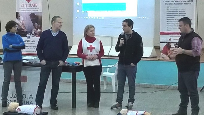 Exitosas jornadas de capacitación sobre RCP organizadas por el Municipio