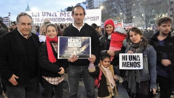 El Frente Renovador comprometido con la movilización de Ni Una Menos