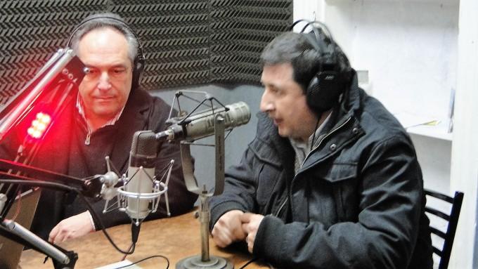 Daniel Arroyo, Director del Banco Provincia por la oposición y dirigente del Frente Renovador, visitó Campana