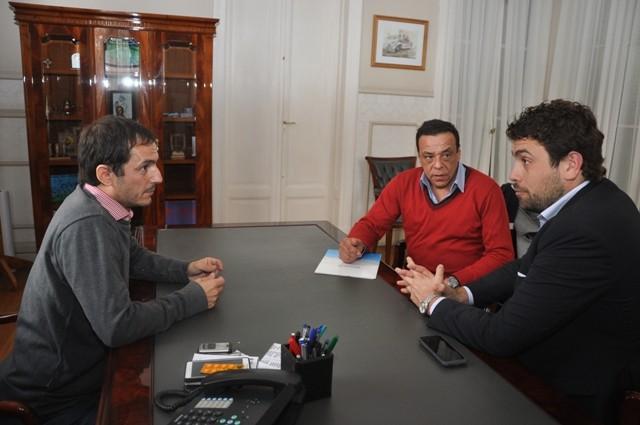 Abella y Cáffaro formalizan su solicitud de ingreso a programa del BID
