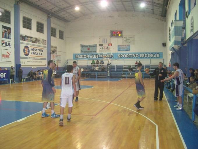 Club Ciudad de Campana venció a Sportivo Escobar