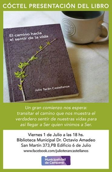 """Presentación del libro """"El camino hacia el sentir de la vida"""""""
