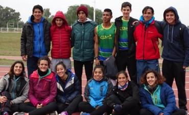 Los atletas del Club Ciudad de Campana participaron en la Copa Nacional de Clubes en la ciudad de Mendoza