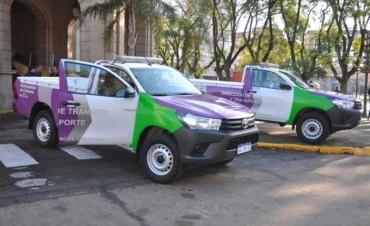 La Dirección de Tránsito y Transporte sumó nuevos vehículos para reforzar los controles