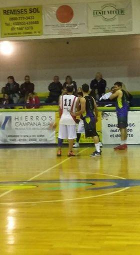 Club Ciudad de Campana le ganó a Sportivo Pilar 95 a 81