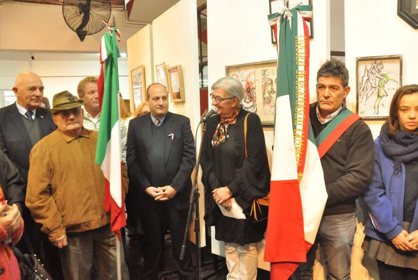 Campana celebró el 71º Aniversario de la República de Italia