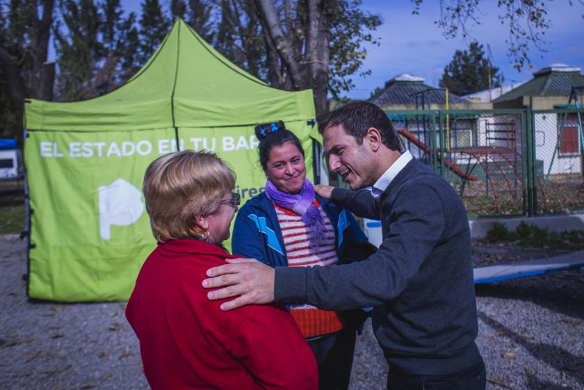 El intendente Abella visitó El Estado en tu barrio