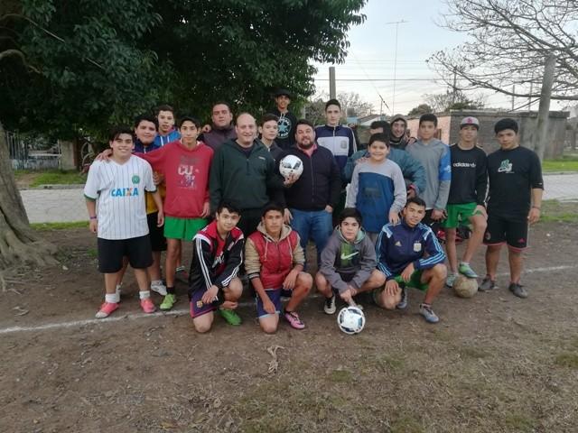 Sergio Roses: Los clubes de fútbol barriales son ejemplo de esfuerzo y superación diaria