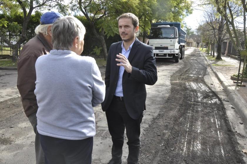 El Municipio invierte cerca de $100 millones en obras de repavimentación