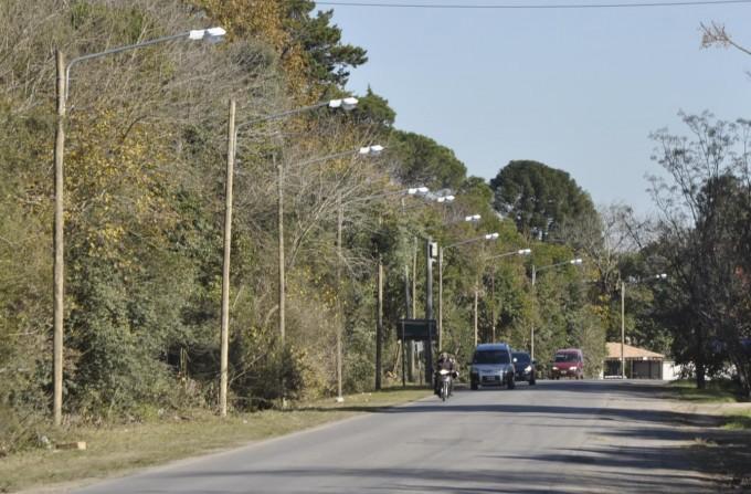 El Municipio completa la iluminación de la Ruta 4