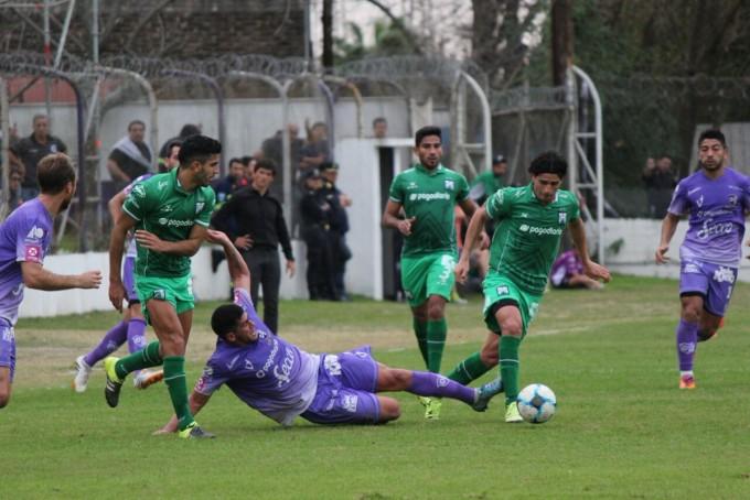 Villa Dálmine empató con Ferrocarril Oeste 0 a 0