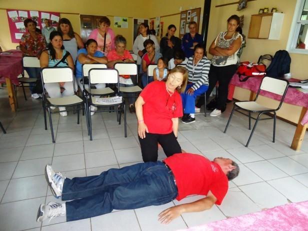 Cruz Roja Argentina abre la inscripción para el nuevo curso de Primeros Auxilios