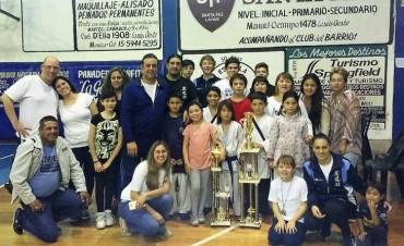 Karate Kyudokan  Alumnos de Campana compitieron en el torneo Ciudad de Lanus de Karate y Kobudo