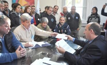 Sergio Roses dialogó con representantes de la CGT