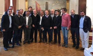 Abella se reunió con Rodríguez Larreta y el ministro Frigerio