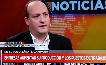 Roses: La inversión de las empresas en Zárate-Campana generará más de 3.000 empleos