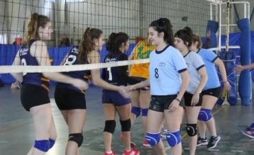 Juegos Bonaerenses 2017: se disputó la etapa local de Voley Femenino