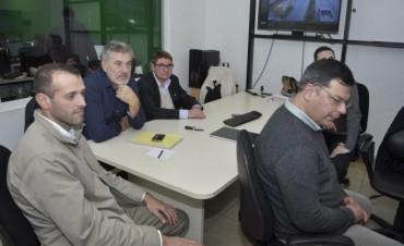Funcionarios de Entre Ríos visitaron el CIMoPU para conocer la plataforma de seguridad